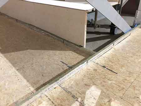Concrete Floating Floor System for Cinema
