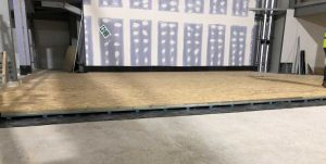 Concrete Floating Floor System for Cinema