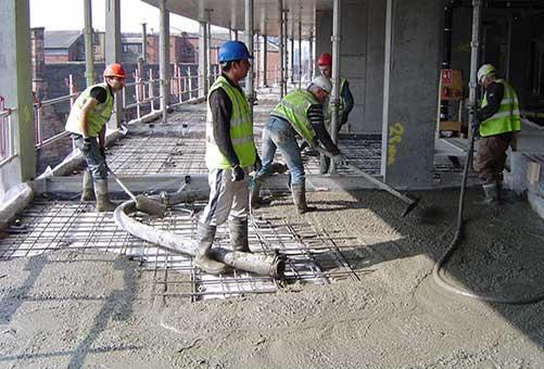 Concrete Floating Floors