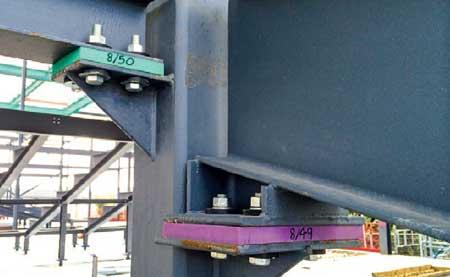 TVS steelwork isolation