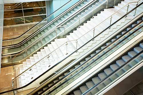 acoustics for escalator in modern building