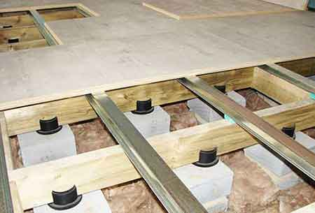 timber construction sound control